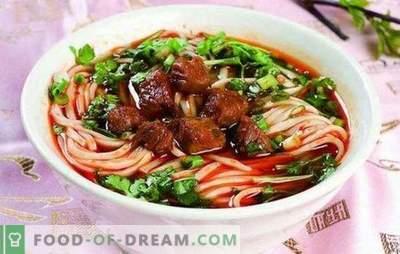 Laghman doma - hranljiv, okusen, preprost! Recepti in raznovrstnosti domačega lagmanskega kuhanja z govedino, jagnjetino, svinjino