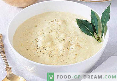 Bechamel za lazanje - pravi recepti. Kako hitro in okusno kuhati Bechamel za lazanje.