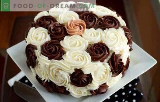 Krema za dekoracijo tort: najboljši in originalni recepti. Kako narediti vsako vrsto kreme za dekoracijo tort: navodila po korakih