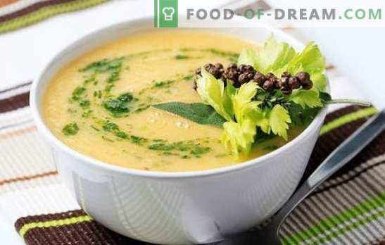 Juha iz cvetače s smetano, sirom, krompirjem, korenjem. Poskusite vse cvetače in kremne juhe!