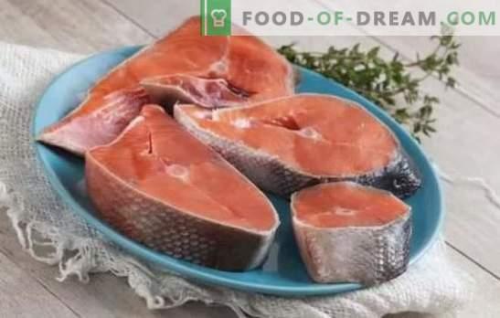 Cojack steak - za ljubitelje neverjetnih rib! Coho steak recepti z limono, zelenjavo, smetano, sojino omako, pari