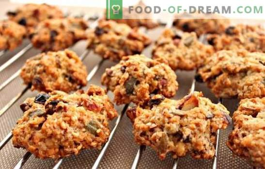 Avižiniai dribsniai be kepimo - orkaitė nereikalinga! Valgykite sveikus ir skanius avižinius sausainius be kepimo namuose