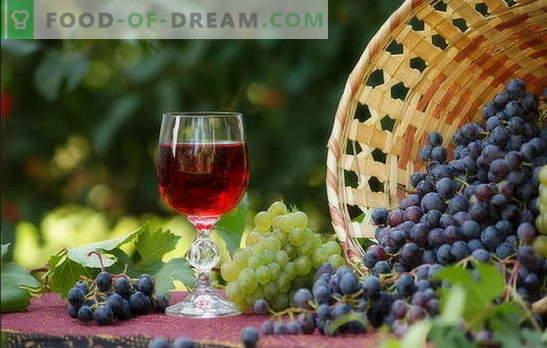 Vino doma je preprost recept za bogato pijačo. Proizvodnja domačega vina: preprosti recepti za začetnike