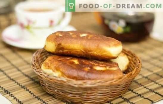 Pečeni pite z marmelado - enak okus, enak okus! Recepti pečenih pite z marmelado iz različnih testov
