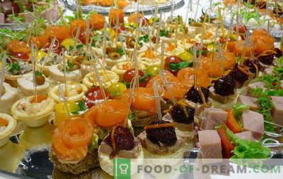 Hitri prigrizki: pravila okusa. Ideje za hitre prigrizke za drage, a nepričakovane goste