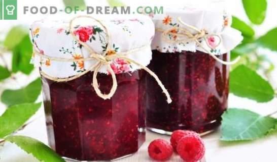Maline s sladkorjem - kako pripraviti zdravo jagodičje, obenem pa ohraniti največjo korist. Maline s sladkorjem za zimo: zemlja, marmelada, žele, konfiter