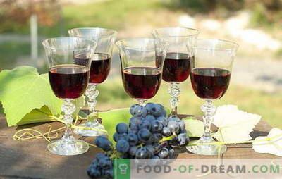Zelfgemaakte druivenvulling - natuurlijk! Recepten druivenlikeur thuis: met wodka, suiker of alcohol
