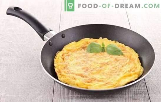 Omelet classic - francoski zajtrk. Kako kuhati klasični omlet: preprosti in okusni recepti