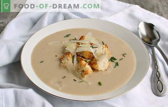 La purée de haricots est une garniture originale pour toute la famille. Comment cuisiner une délicieuse soupe de purée de haricots: des recettes éprouvées