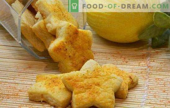 Cytrynowe ciasteczka - dla słonecznego nastroju! Przepisy na pyszne herbatniki cytrynowe: kruche, herbatniki, francuskie