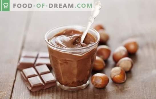 Domača čokoladna smetana. Odlična sladica in dekoracija za domačo torto: različni recepti za čokoladno kremo