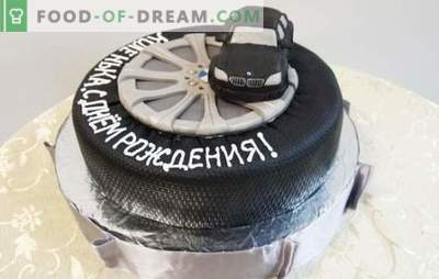 Rojstnodnevna torta za moškega je najlepše darilo! Izbor različnih tort za moške na njegov rojstni dan