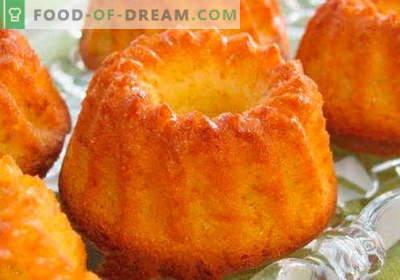 Enostavno pecivo - najboljši recepti. Kako hitro in okusno kuhamo preprost kolač.