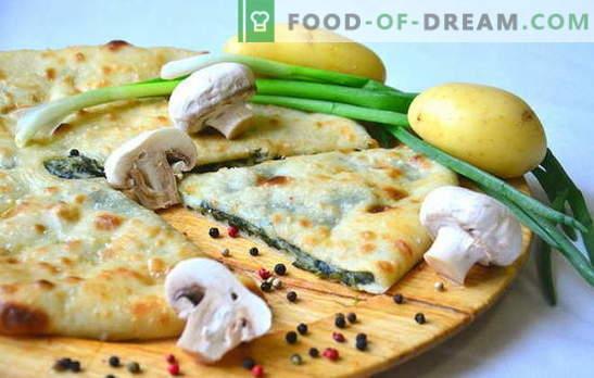 Krompirjeva in čebulna pita je domači okus! Recepti različnih pite s krompirjem in čebulo v pečici in v multikvalniku