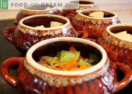 Gobe v lončkih so najboljši recepti. Kako pravilno in okusno kuhati gobe v lončkih.