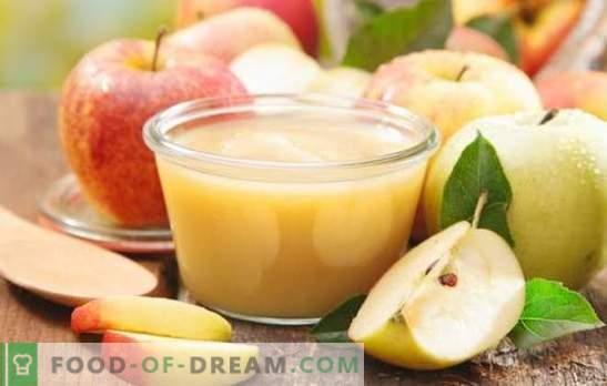 Jabolčni žele je okusna in aromatična pijača. Kako pripraviti slasten žele iz svežih in posušenih jabolk