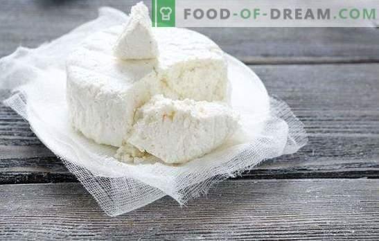 Greseli de gătit cascaval și brânză de casă