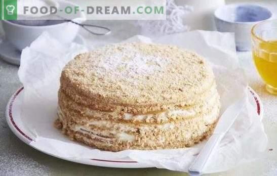 Medena torta: recept korak za korakom za vašo najljubšo sladico! Kuhanje okusnih medenih peciv z dokazanimi recepti po korakih