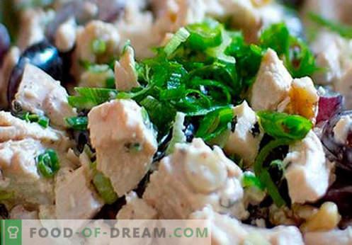 Dimljena piščančja solata - najboljši recepti. Kako pravilno in okusno pripraviti solato s pršutom