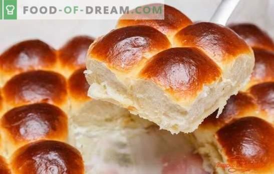 Vanilla buns - aromo domačega pečenja. Recepti za vanilije iz testa iz kvasa in skute: po GOST-u in doma