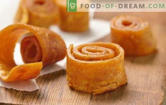 Nenavadna sladkost - domače marelične sladkarije. Kuhanje slanine z marelicami doma - v pečici, z in brez vretja