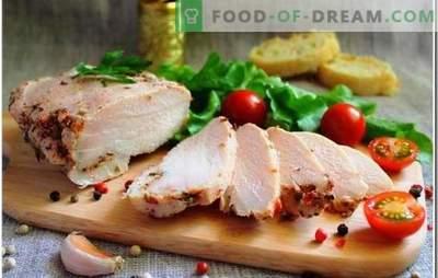 Piščančja prsa so edinstvena sestavina za vsak obrok. Kako kuhati piščančje prsi: koliko časa je potrebno kuhati do kuhanja