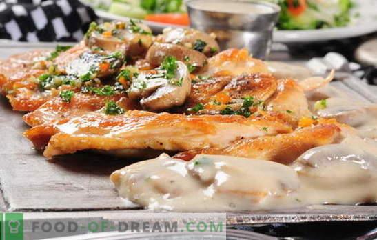 Meso v francoščini z gobami v pečici - tudi mi ga ljubimo! Francoski mesni recepti z gobami, paradižnikom, krompirjem