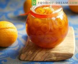 Confiture de zeste d'orange