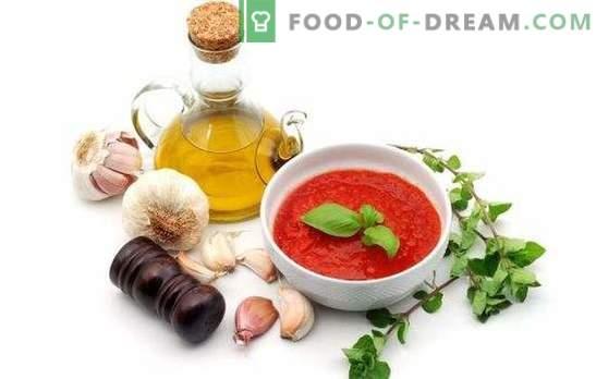 Domača adjika za zimo: potrebno se je prepričati! Priljubljeni recepti za izdelavo resnične adzhike doma