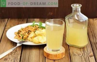 Postopni recepti za osvežitev domačega belega kvasa. Edinstvena, zdrava in osvežilna pijača na vaši mizi!